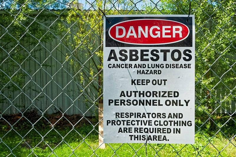 Asbestos exposure can cause mesothelioma