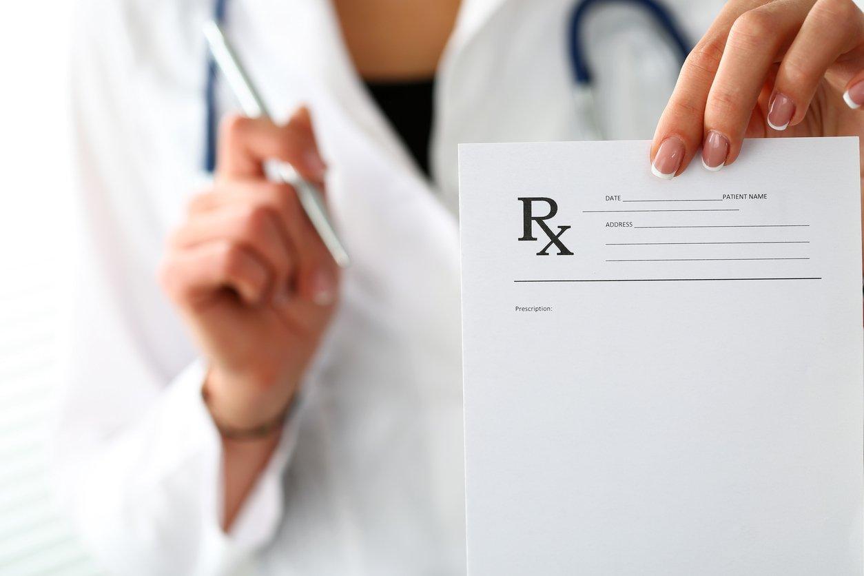 Prescribers offering opioid prescriptions