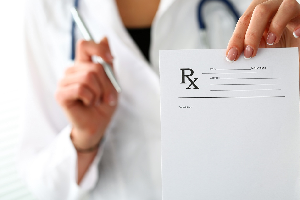 Doctor with Script