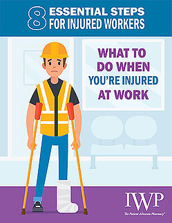 Infographic - What to do when you are injured at work 375x485