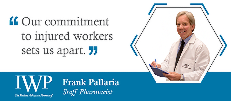 Frank Pallaria, IWP Pharmacist
