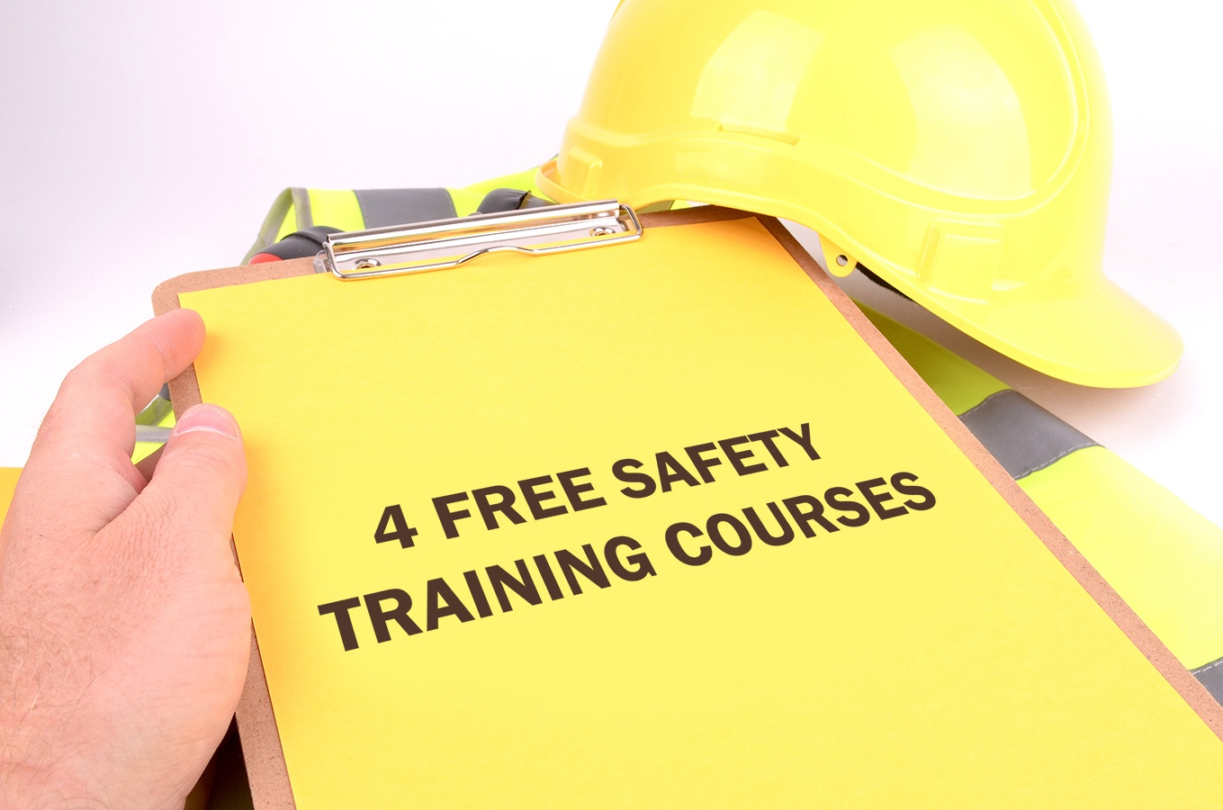 4 Free Safety Training Courses