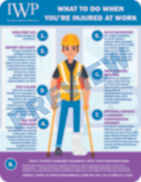 Infographic - What to Do When Youre Injured at Work Preview